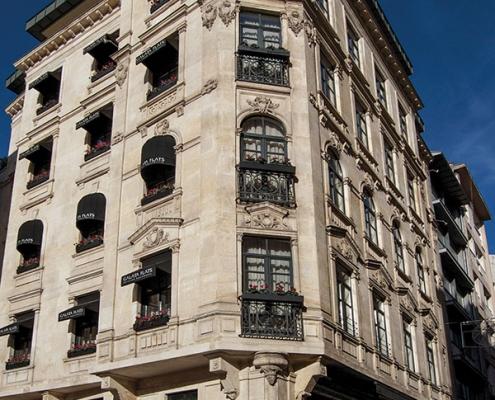 Mir Binası Beyoğlu Siska İnşaat Restorasyon