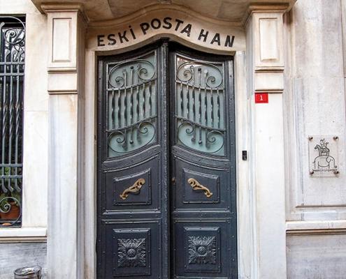 Old Posta Han Beyoğlu Siska Restoration