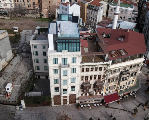Selim Bey Apartment Beyoğlu Siska Restoration