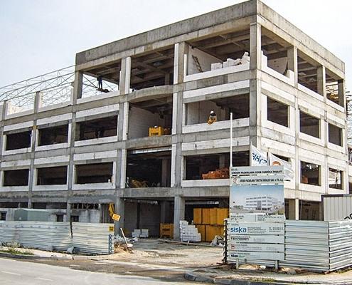 Eczacıbaşı Girişim Pazarlama Fabrika Binası Siska İnşaat