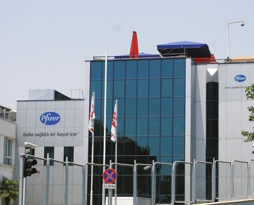 Pfizer Pharmaceutical Plant