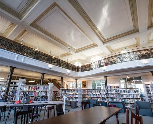 Robert Koleji Kütüphanesi Siska İnşaat Restorasyon