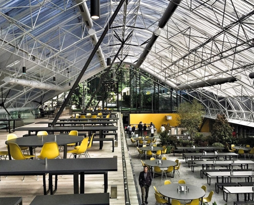 Robert Koelji Öğrenci Kafeteryası Siska İnşaat