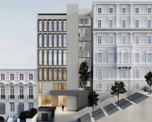 İSO Building Beyoğlu Siska Construction Restoration