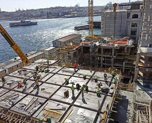 Yolcu Salonu Galataport Karaköy Siska İnşaat Restorasyon